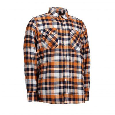 ID Green leaf skjorte | trykknap