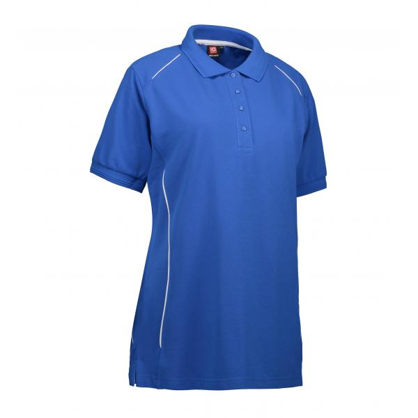 ID PRO Wear dame poloshirt|piping