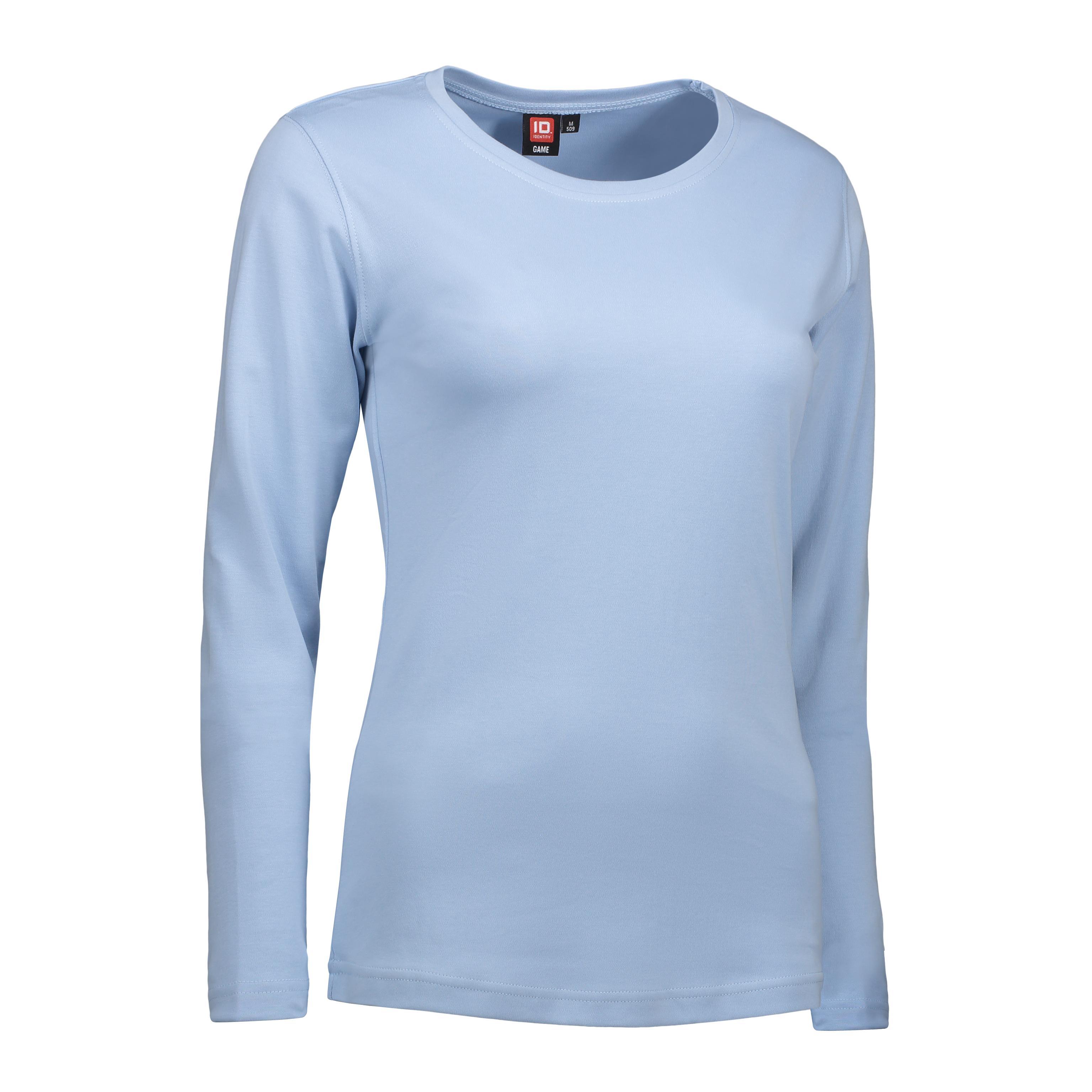ID Interlock dame T shirt|langærm 0509