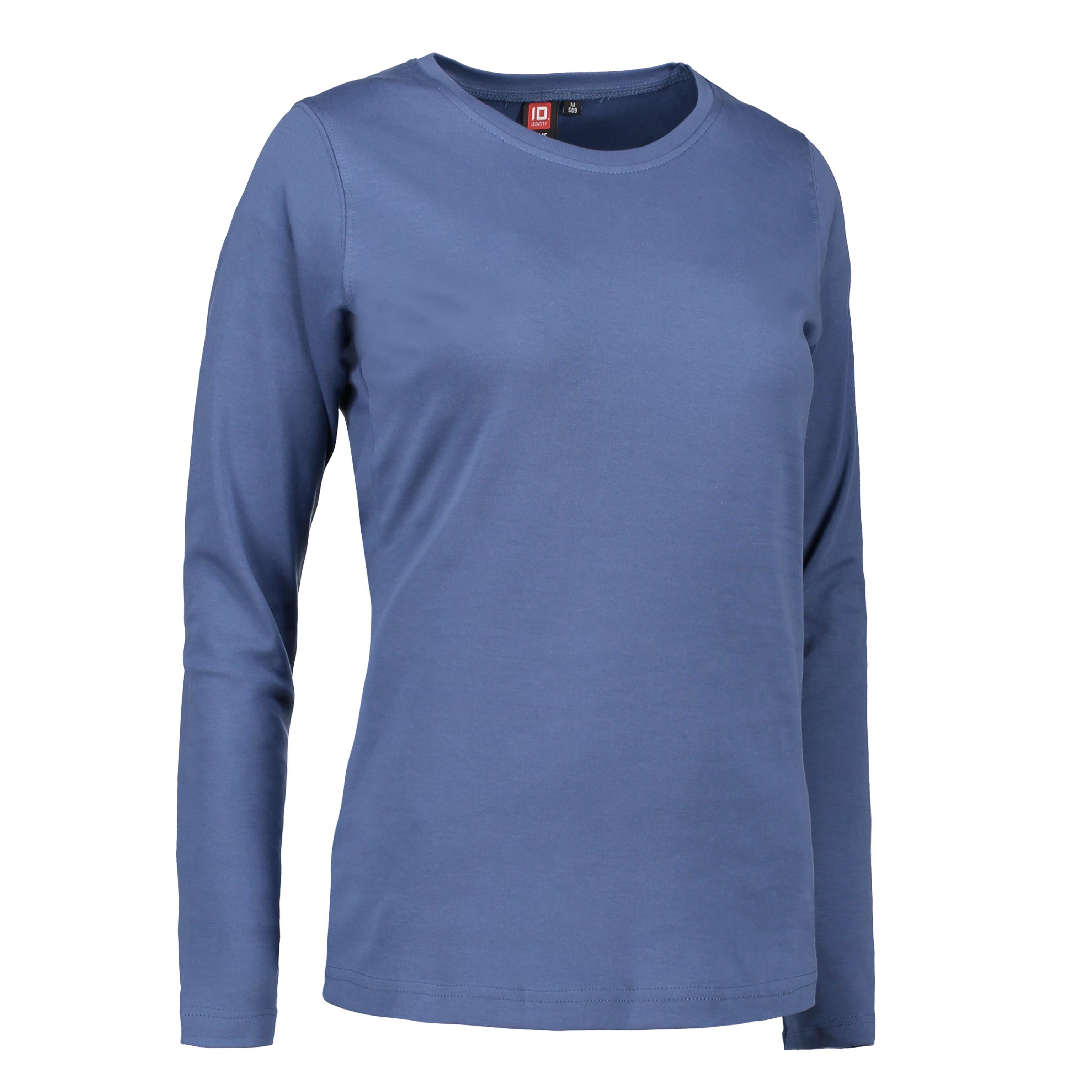 ID Interlock dame T shirt|langærm 0509