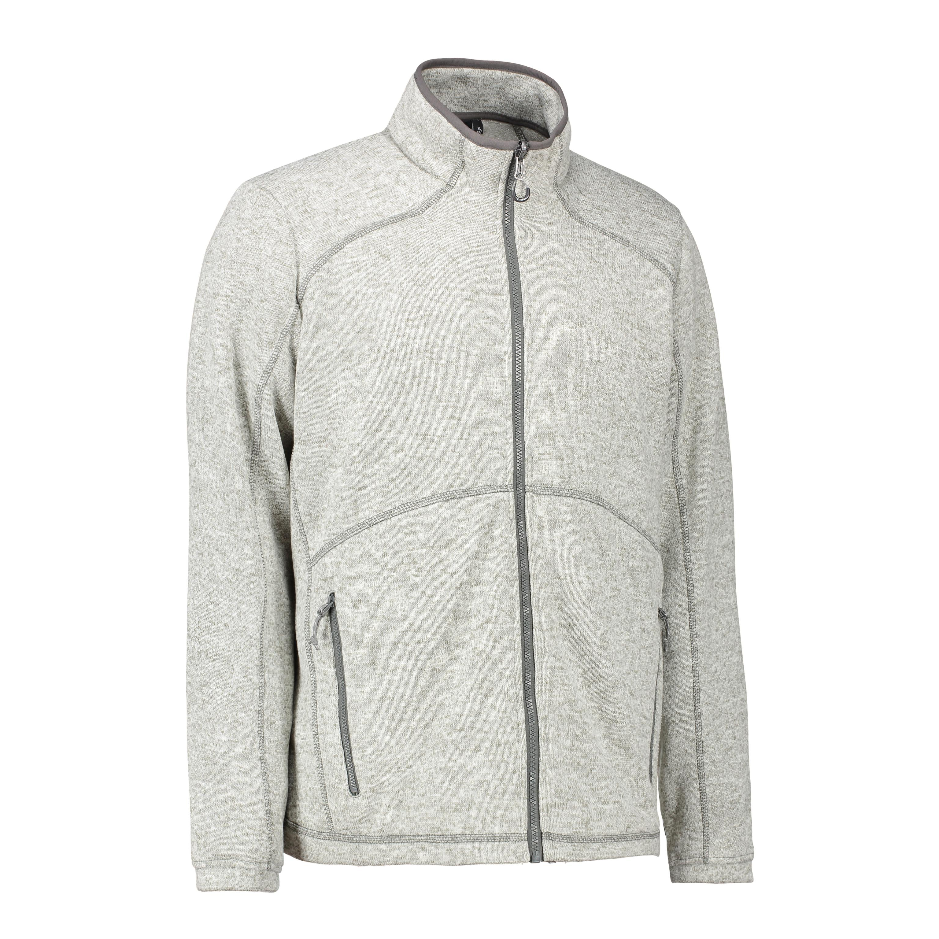 5cf39501 ID Zip'n'Mix melange herre fleece 0847