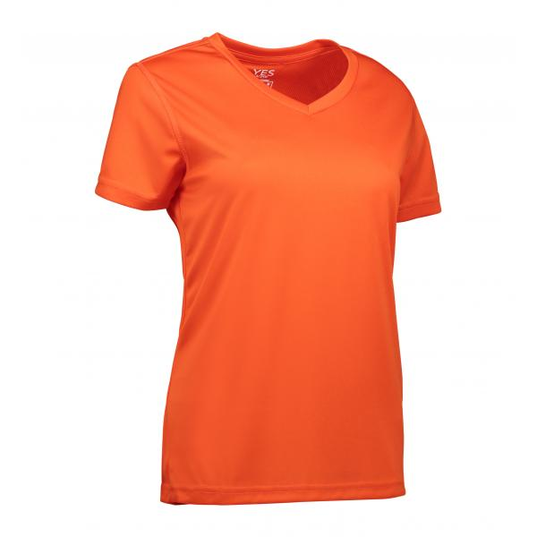 ID YES Active dame T-shirt