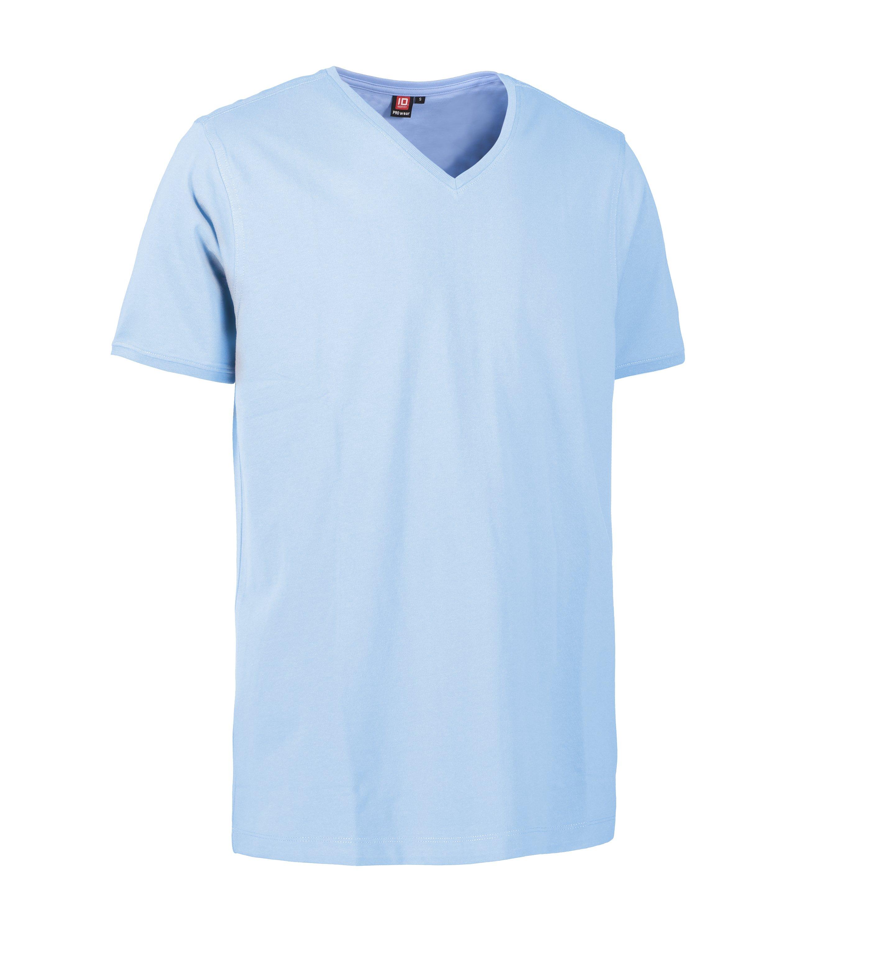 ID PRO Wear CARE V hals herre T shirt 0372