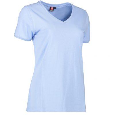ID PRO Wear CARE V-hals dame T-shirt