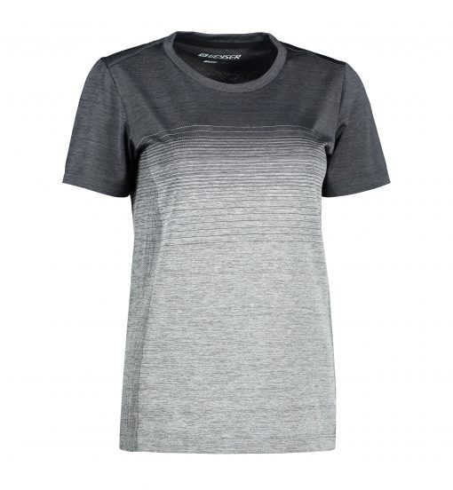 ID Women seamless striped s/s T-shirt