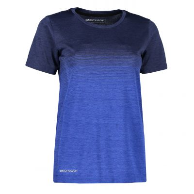 ID Women seamless striped s/s T-shirt