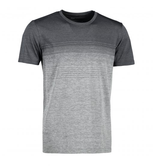 ID Man seamless striped s/s T-shirt
