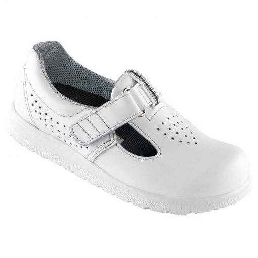 Euro-Dan CLASSIC sko med velcro og perforering