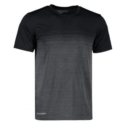 ID Man seamless striped s/s T-shirt