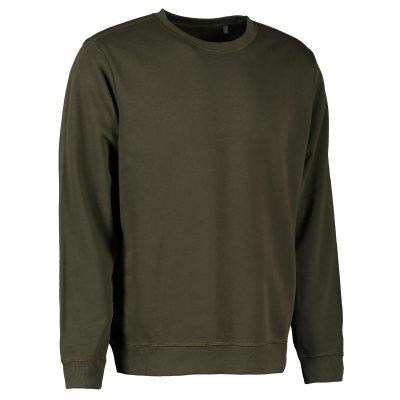ID Økologisk O-hals sweatshirt I herre