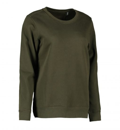 ID Økologisk O-hals sweatshirt I dame